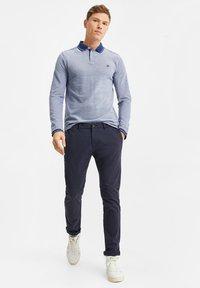 WE Fashion - Polo shirt - greyish blue - 3