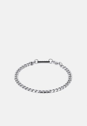 CURB CHAIN BRACELET - Bracelet - silver-coloured