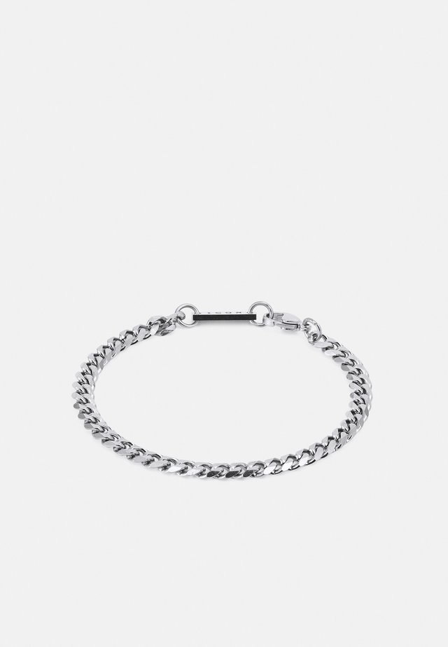 CURB CHAIN BRACELET - Armband - silver-coloured