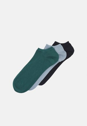 LOW CUT 3 PACK - Ponožky - blue