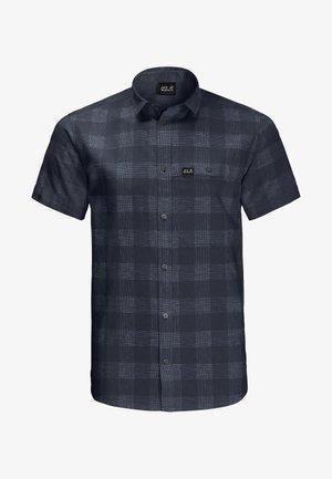 HIGHLANDS - Shirt - night blue checks