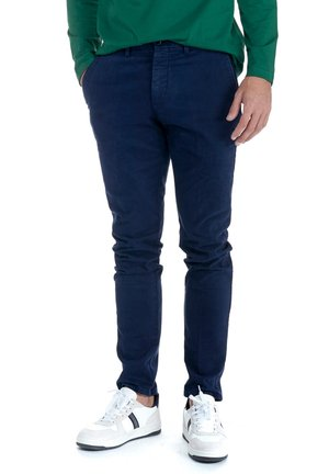 BASICO NARROW - Chinos - blu scuro
