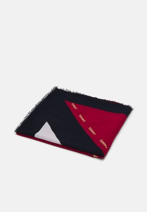 CORPORATE STRIPE SQUARE - Skjerf - red