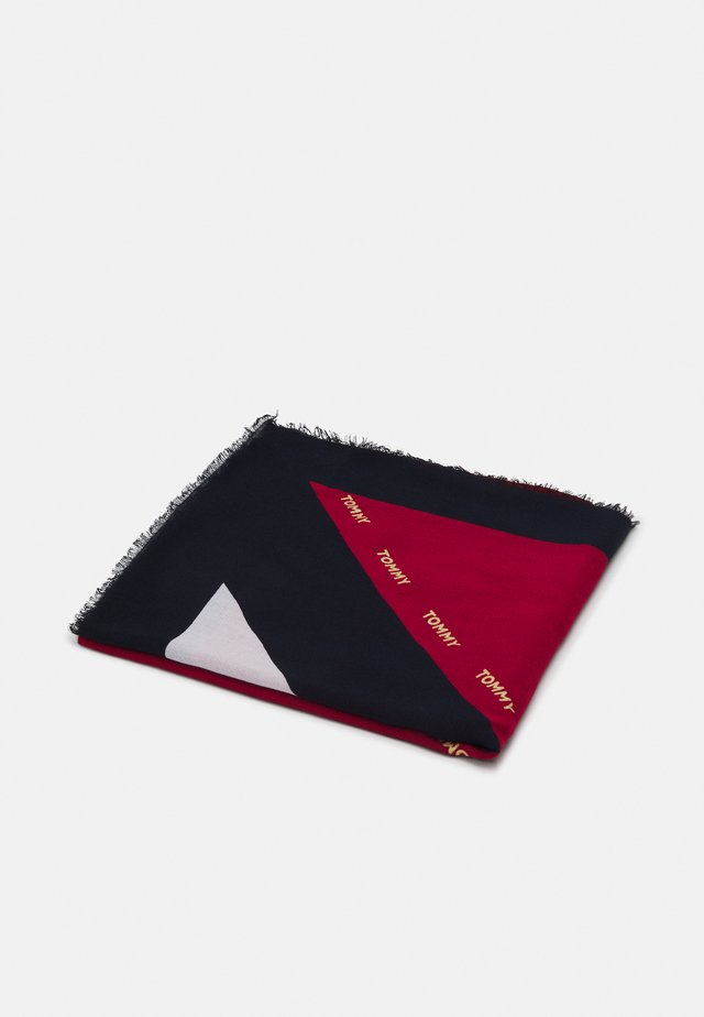 CORPORATE STRIPE SQUARE - Pañuelo - red