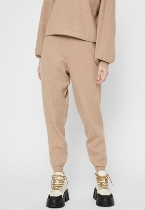 Tracksuit bottoms - natural
