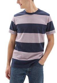 Vans - T-shirt med print - dress blues-nirvana - 0