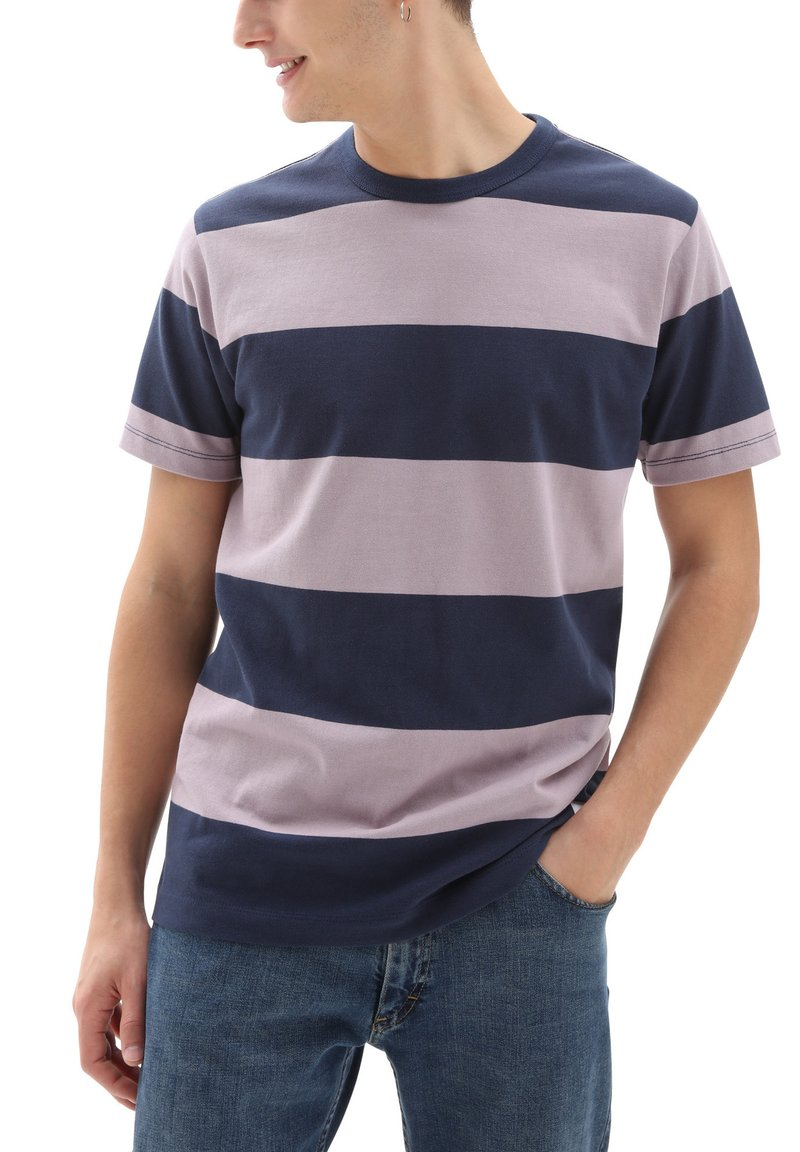 Vans - T-shirt med print - dress blues-nirvana