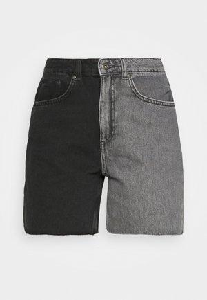 HALF AND HALF - Shorts vaqueros - charcoal