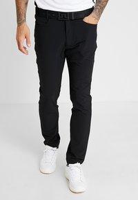 Calvin Klein Golf - GENIUS TROUSERS - Sportovní kraťasy - black - 0
