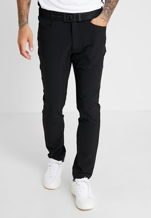 GENIUS TROUSERS - Korte sportsbukser - black