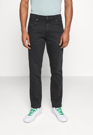 TEXAS - Straight leg jeans - black crow