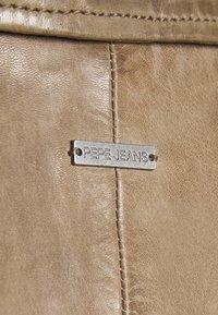 Pepe Jeans - JULIETTE - Kožená bunda - tetley - 5