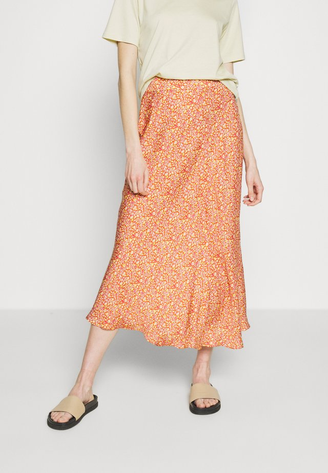NAYE - A-line skirt - orange