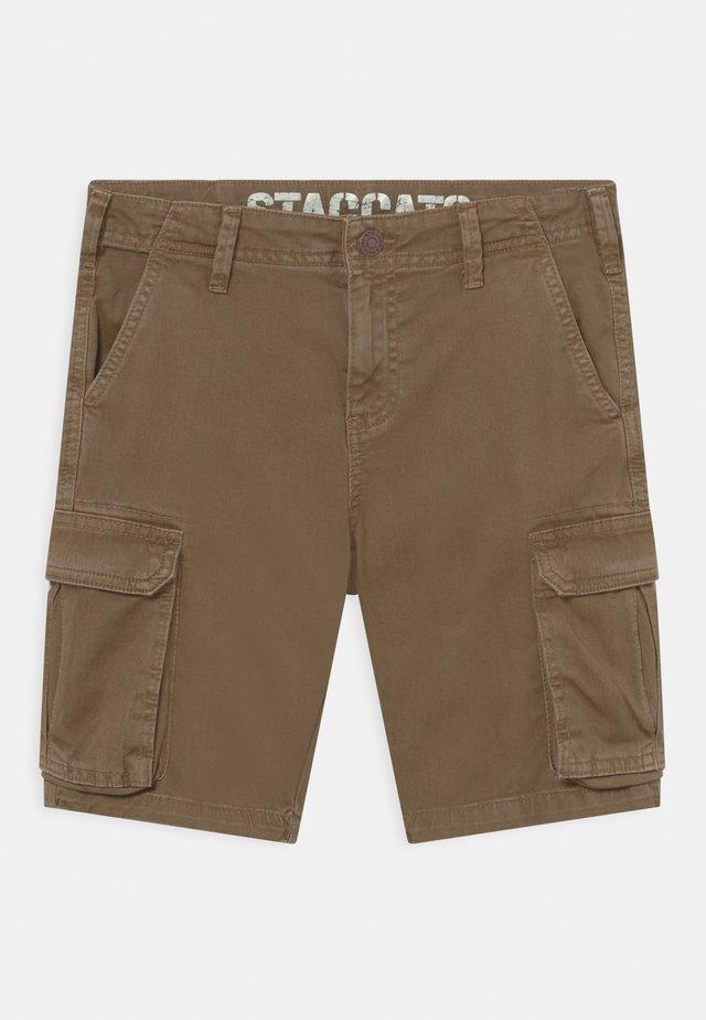 BERMUDAS - Shorts - dark sand