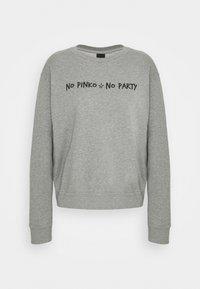 Pinko - ALGEBRA MAGLIA - Sweatshirt - grey - 6