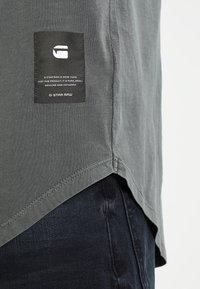 G-Star - SWANDO RELAXED - Basic T-shirt - asfalt - 4