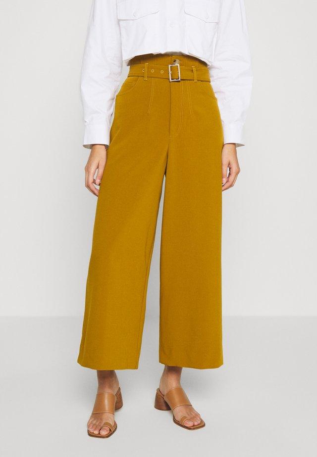 LYNNE PANTS - Pantalones - tapenade