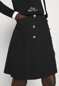 Lauren Ralph Lauren - GELLERT SKIRT - Pencil skirt - black - 3