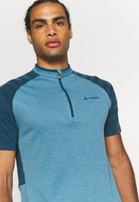 Vaude - TAMARO - Print T-shirt - blue gray - 3