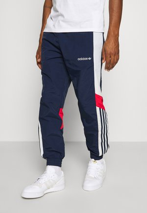 TRACKPANT - Pantalones deportivos - navy/grey/red
