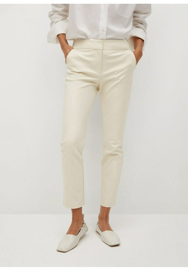 COFI7-N - Pantalon classique - beige
