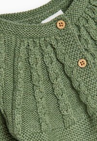 Next - CABLE DETAILED  - Cardigan - green - 2