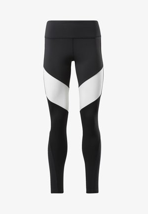 LUX COLORBLOCK 2 LEGGINGS - Leggings - black