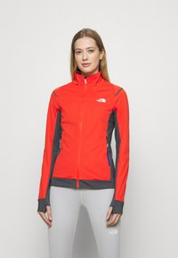 The North Face - SPEEDTOUR STRETCH - Soft shell jacket - flare/vanadsgry - 0