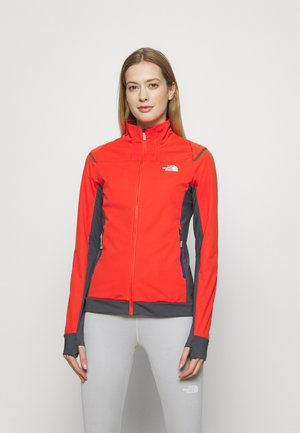 SPEEDTOUR STRETCH - Soft shell jacket - flare/vanadsgry