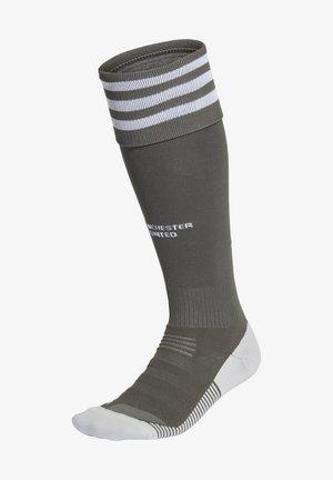 MANCHESTER UNITED SO KNEE - Football socks - green