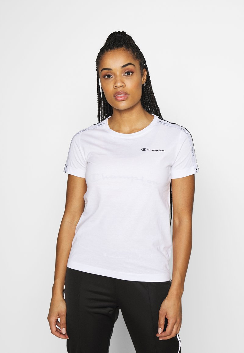 Champion - CREWNECK LEGACY - T-shirts med print - white