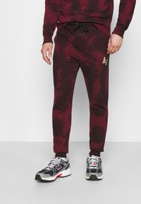 Another Influence - LEX  - Tracksuit bottoms - burgundy - 0