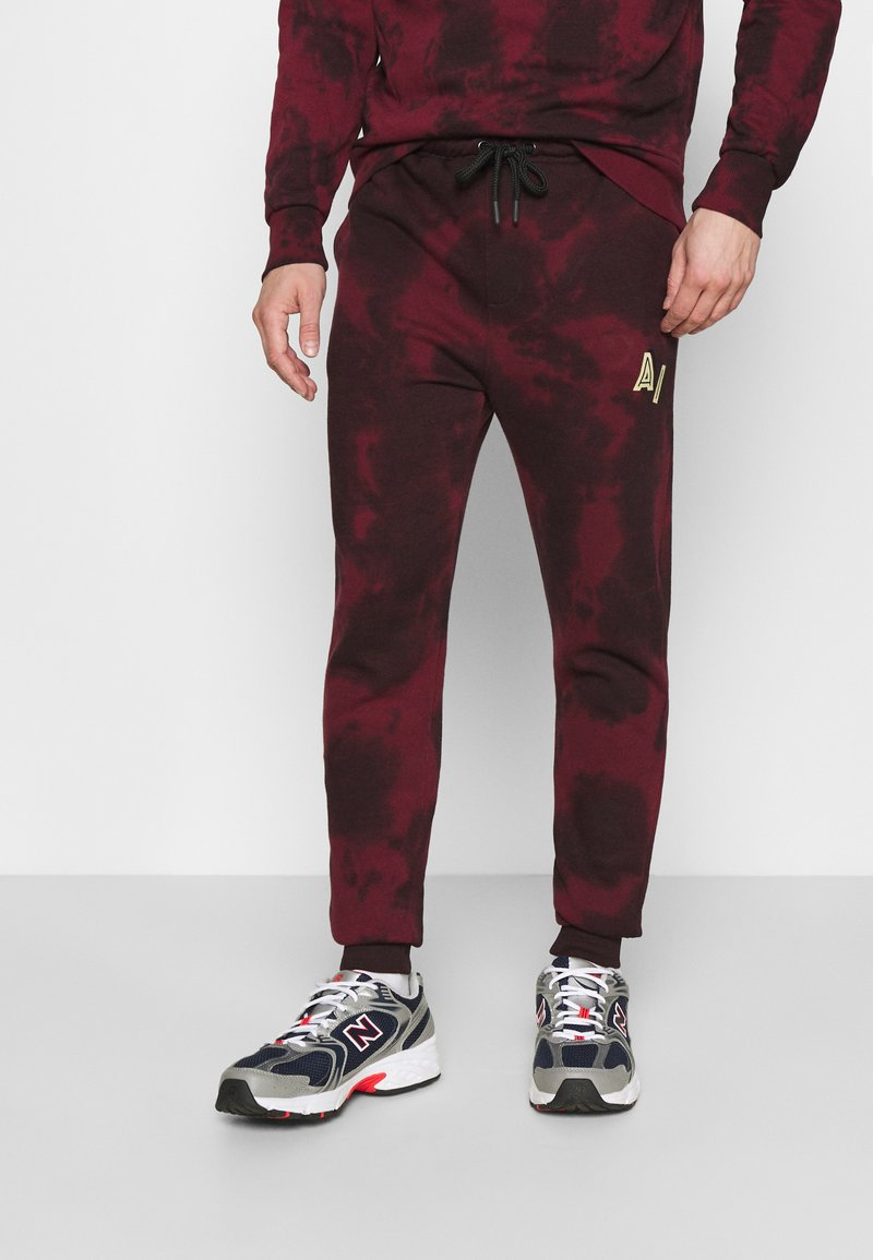 Another Influence - LEX  - Tracksuit bottoms - burgundy