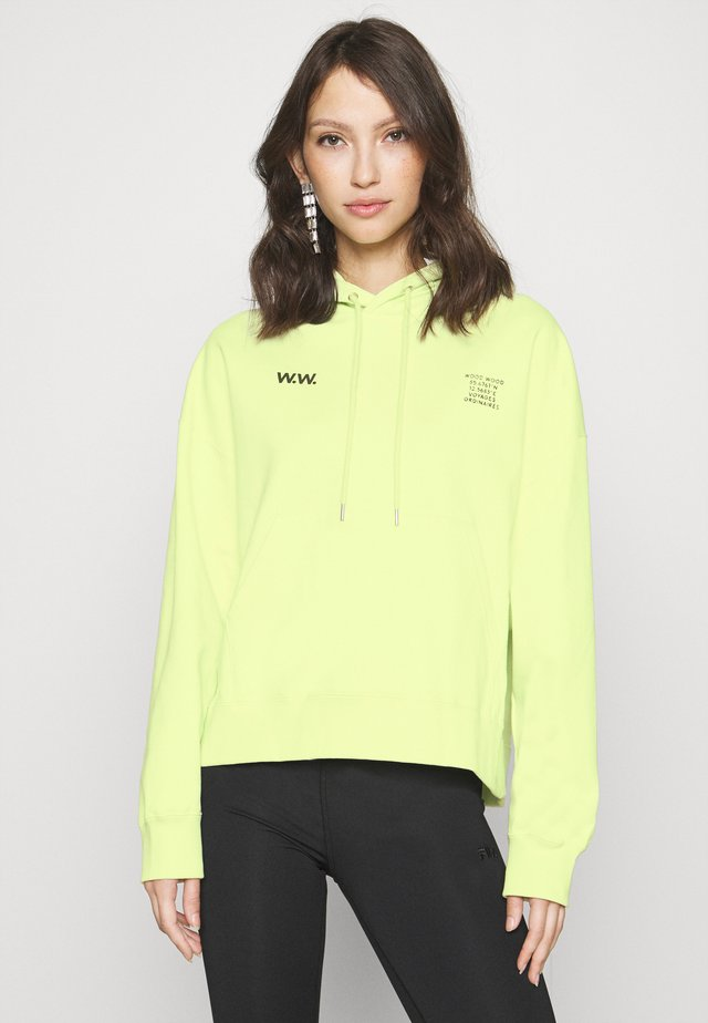 MARY HOODIE - Felpa con cappuccio - light green