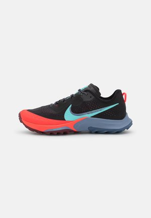 AIR ZOOM TERRA KIGER 7 - Chaussures de running - black/dynamic turquoise/dark beetroot/ashen slate/bright crimson/diffused blue