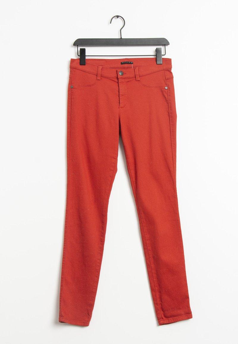Sisley - Slim fit jeans - red