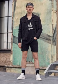 adidas Originals - TREFOIL TANK - Top - black - 3