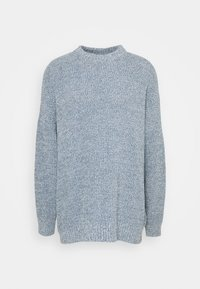 NU-IN - SLOUCHY LIGHTWEIGHT SWEATER - Maglione - blue - 5