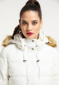 faina - Winter coat - wollweiss - 3