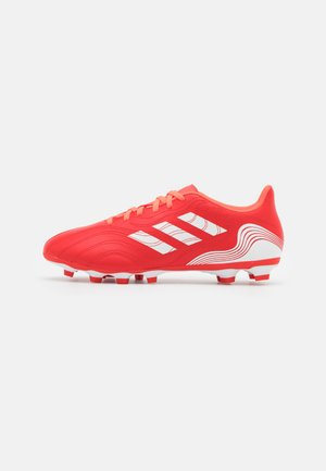 COPA SENSE.4 FXG - Moulded stud football boots - red/footwear white/solar red