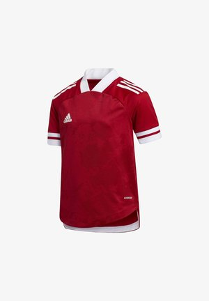 CONDIVO 20 PRIMEGREEN JERSEY - T-Shirt print - red