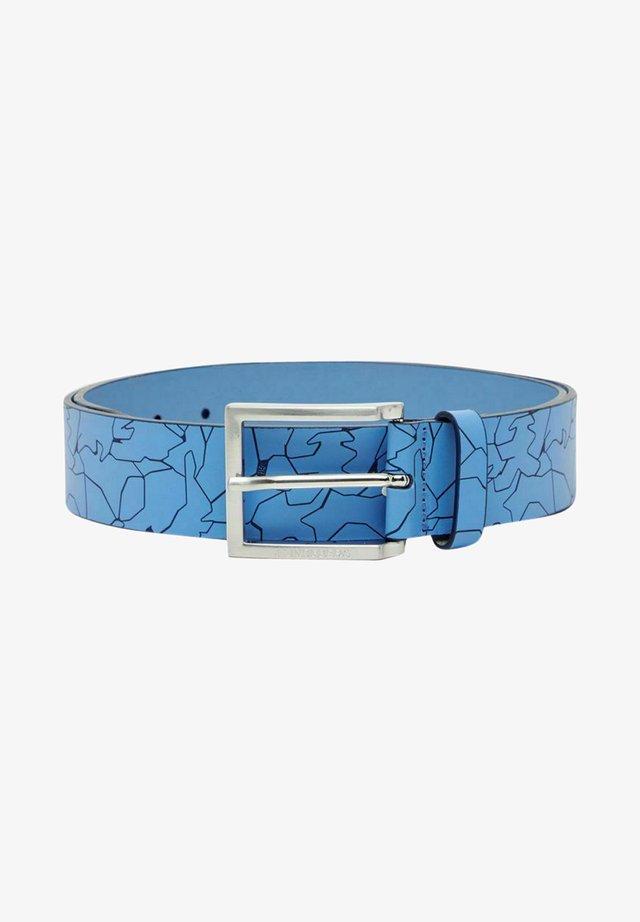 Ceinture - slit ocean blue