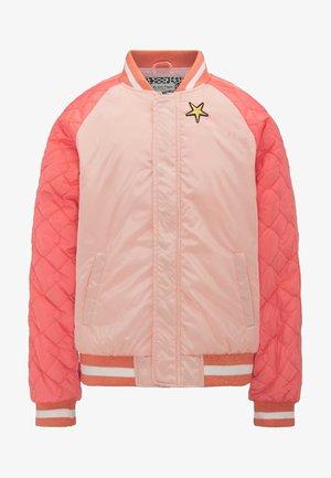 Bomber Jacket - peach nectar
