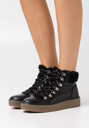 YASISABELL BOOTS - Lace-up ankle boots - black