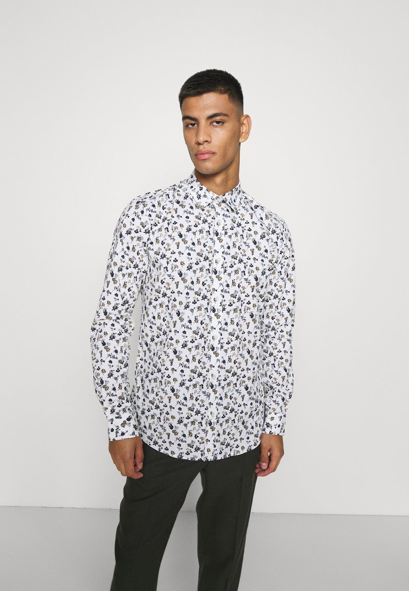 Only & Sons - ONSSANDER LIFE STRETCH - Shirt - bright white