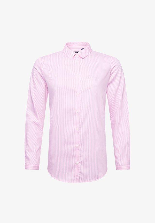 Button-down blouse - chalk pink