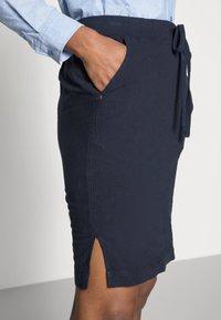 Kaffe - NAYA  - Pencil skirt - midnight marine - 4