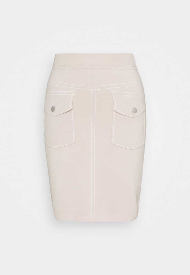 POCKET SKIRT SPECIAL - Kynähame - almond