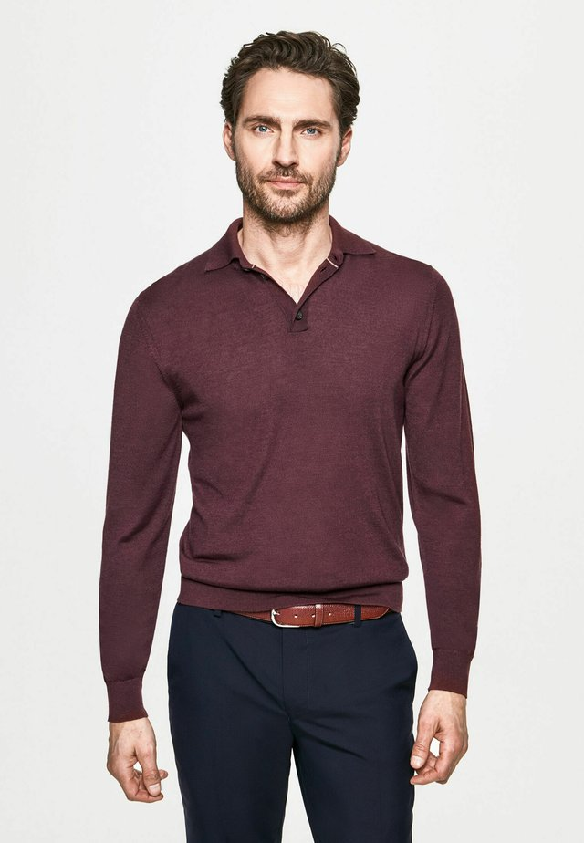 Polo - berry red