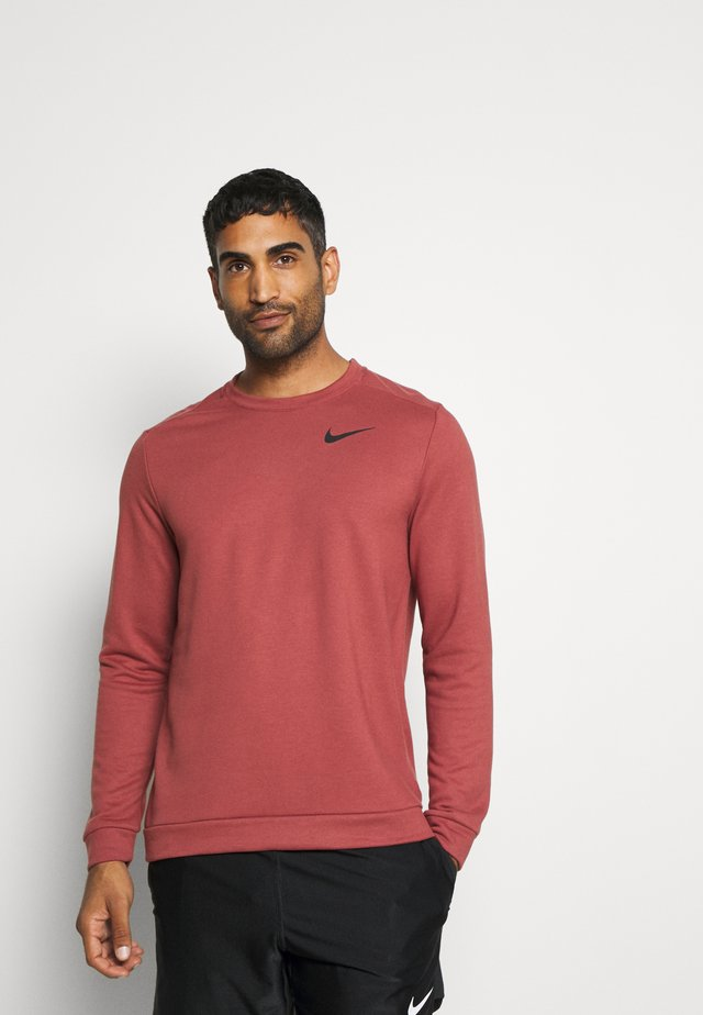 DRY CREW - Sweater - claystone red/black